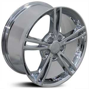 Chevy Corvette C6 CV14  Wheels Chrome
