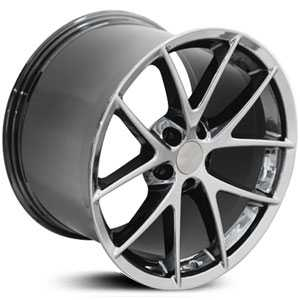 Chevy Corvette C6 Spyder CV15  Rims PVD Black Chrome