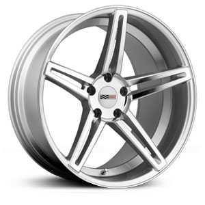 Cray Brickyard  Wheels Silver w/ Mirror Cut Face