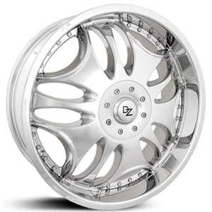 DZ 500  Rims Chrome