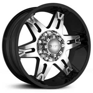 Dcenti DW902  Wheels Black w/ Machined Face