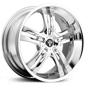 Dub Phase 5 104/105/106  Wheels Chrome
