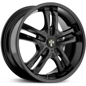 Dub Phase 5 104/105/106  Wheels Black Matte