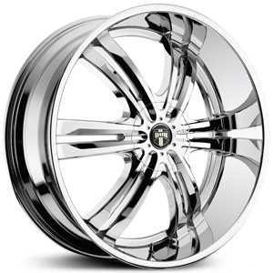 Dub Phase 6 107/108  Wheels Chrome