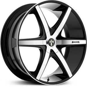 Dub Rio-6 112/113  Wheels Black Machined
