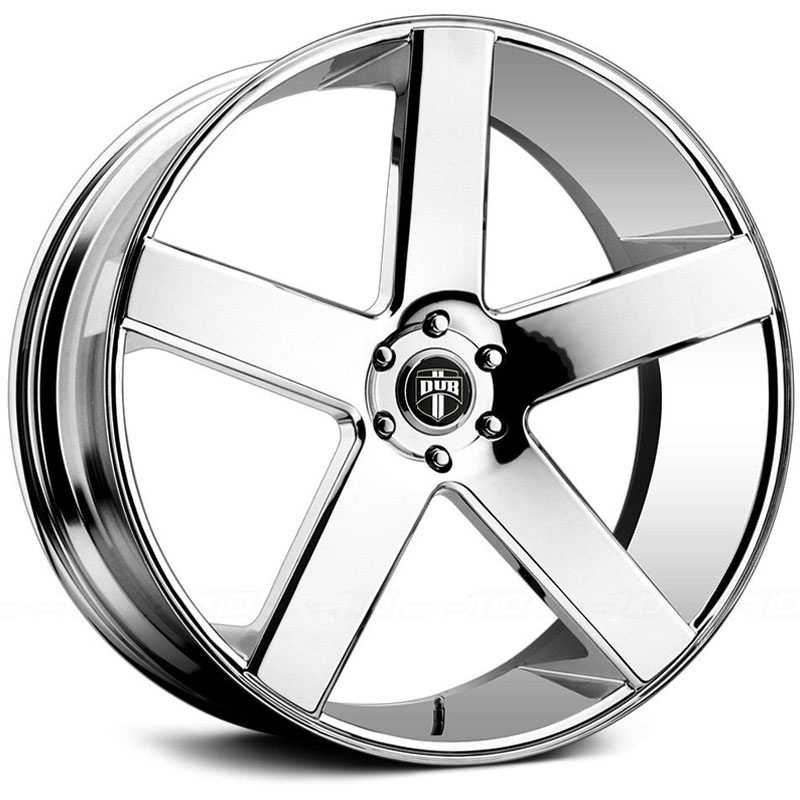 Dub Baller 115/116  Wheels Chrome