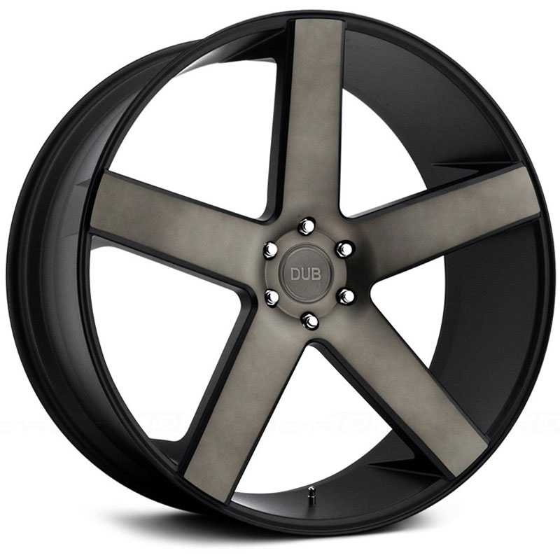 Dub Baller 115/116  Wheels Black Machined
