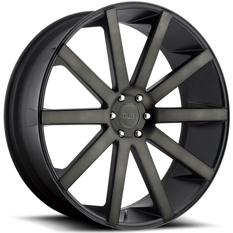 Dub Shot Calla 120/121  Wheels Black Machined