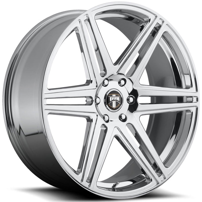 Dub Skillz 122/123  Wheels Chrome