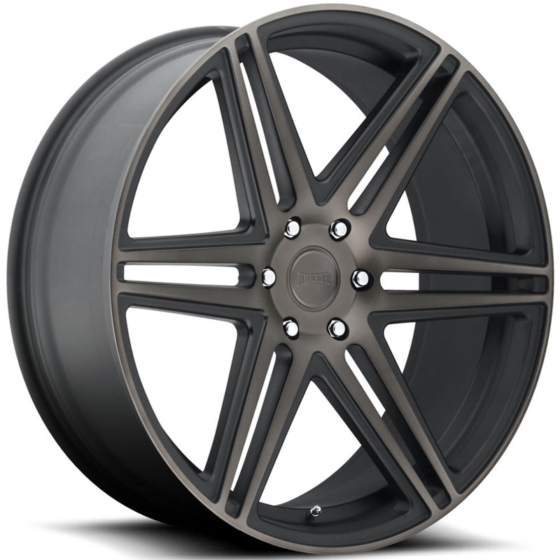 Dub Skillz 122/123  Wheels Black Machined