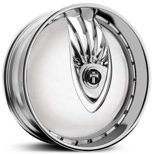 Dub Snatch Skirtz S603  Wheels Chrome