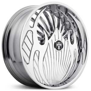 Dub Vape Skirtz S611  Wheels Chrome