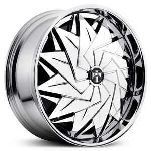 Dub Dazy Spinner S707  Wheels Chrome