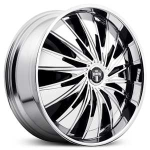 Dub Lixx Spinner S710  Wheels Chrome