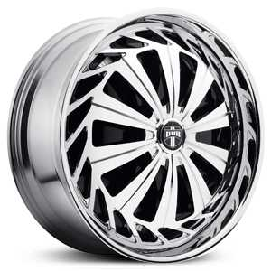 Dub Krzy Spinner S711  Wheels Chrome