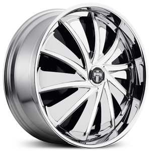 Dub Cutta Spinner S712  Wheels Chrome