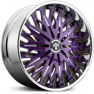 Dub Savant Spinner S714  Wheels Custom Finish