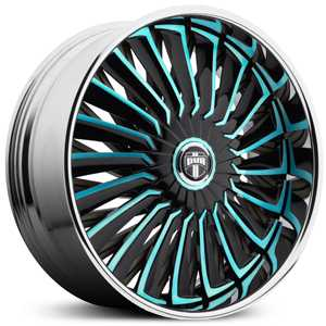 Dub Turbine Spinner S717  Wheels Custom Finish