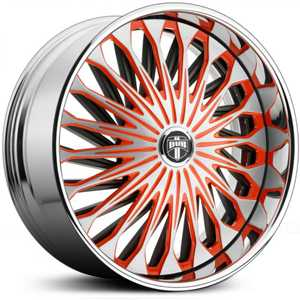 Dub Fate Spinner S718  Wheels Custom Finish