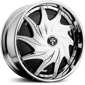 Dub Mercy Spinner S720  Wheels Chrome