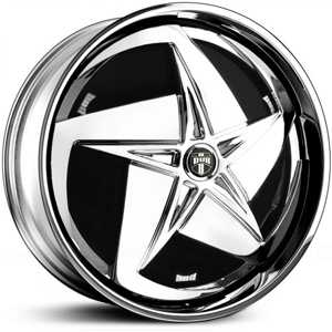 Dub Swerv Spinner S721  Wheels Chrome