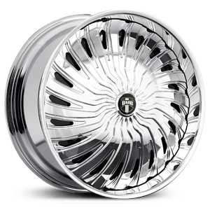 Dub Shroom Spinner S725  Wheels Chrome