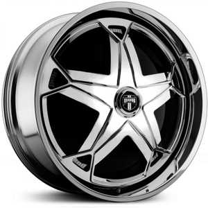 Dub Scratch Spinner S729  Wheels Chrome