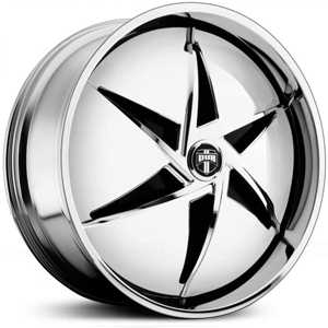 Dub SNAP Spinner S730  Wheels Chrome