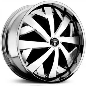 Dub Parlay Spinner S731  Wheels Chrome