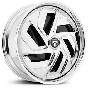 Dub KRUNK Spinner S736  Wheels Chrome