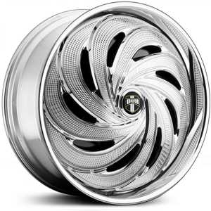 Dub FLO Spinner S738  Wheels Chrome