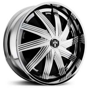 Dub Nolia Spinner S748  Wheels Chrome