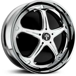 Dub Havok Spinner S756  Wheels Chrome