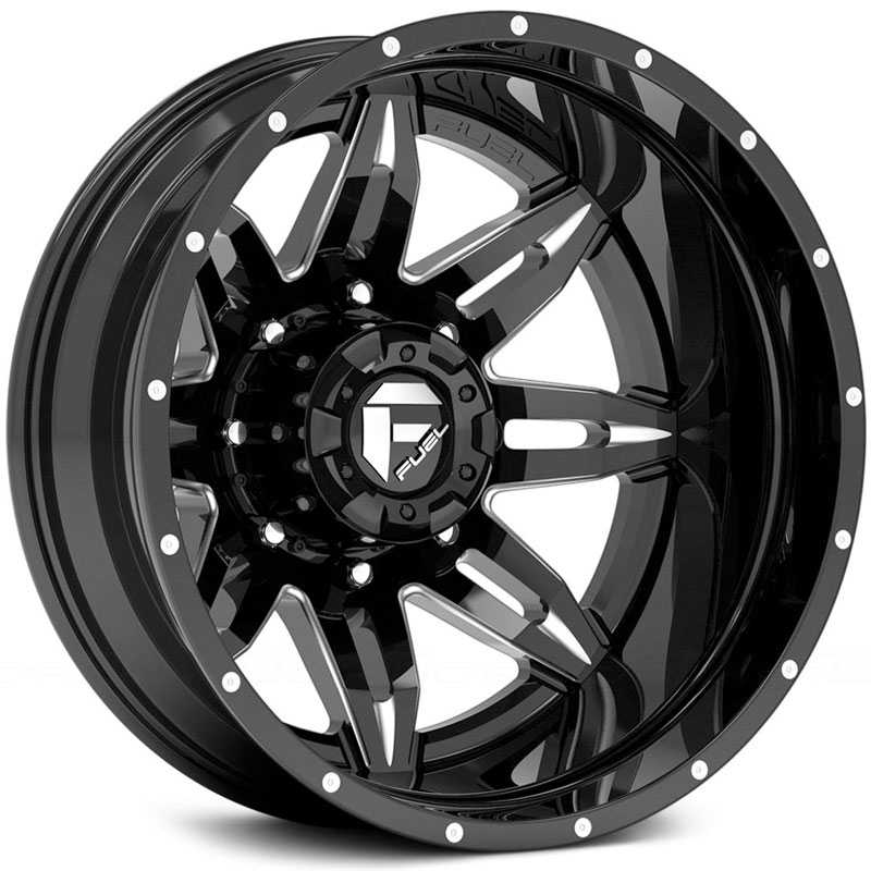 D267 Lethal Black Milled (Rear)