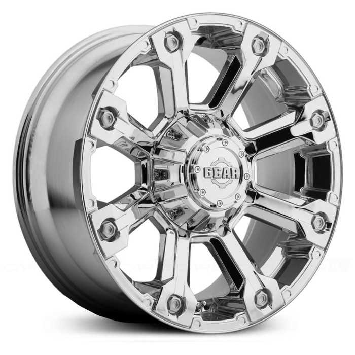 Gear Alloy 719C Backcountry  Wheels Chrome