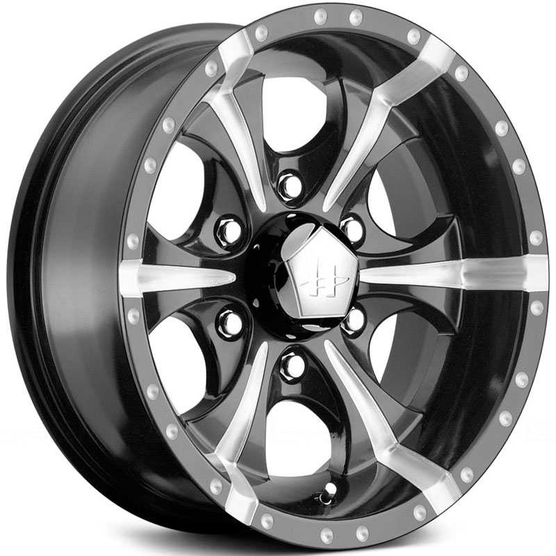 Helo HE791 Maxx  Rims Gloss Black Milled