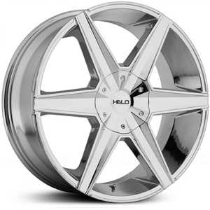 Helo HE887  Rims Chrome