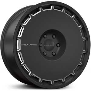 KMC KM689  Wheels Satin Black Milled