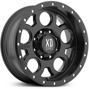 KMC XD Series XD126  Wheels Satin Black