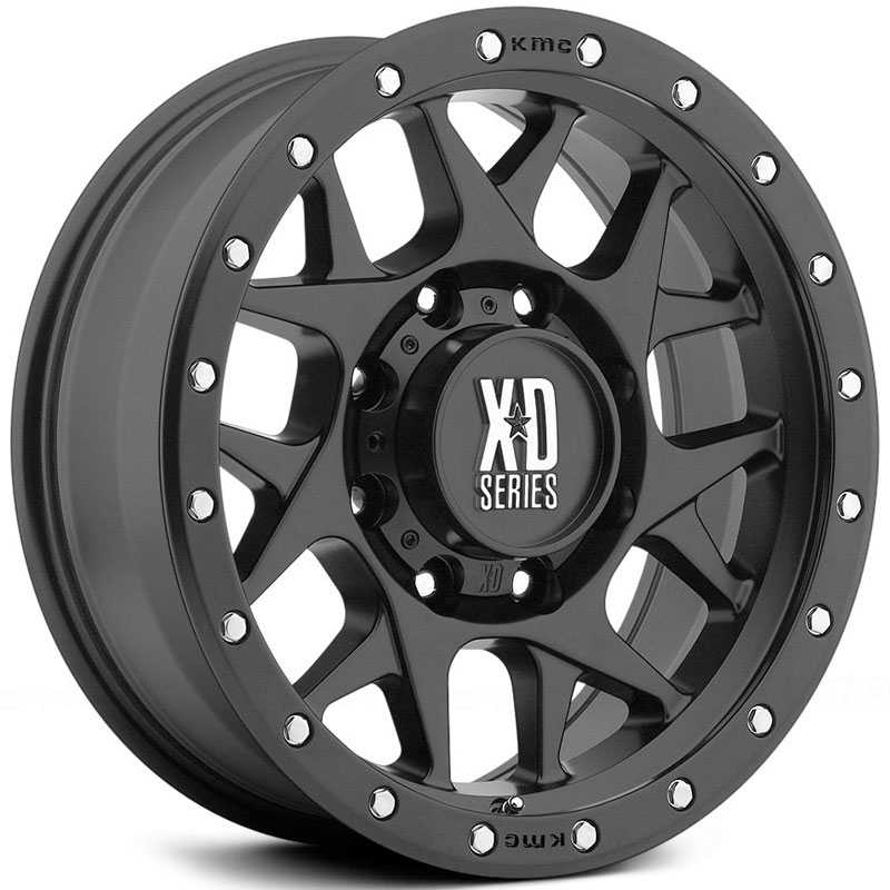 KMC XD Series XD127  Wheels Satin Black