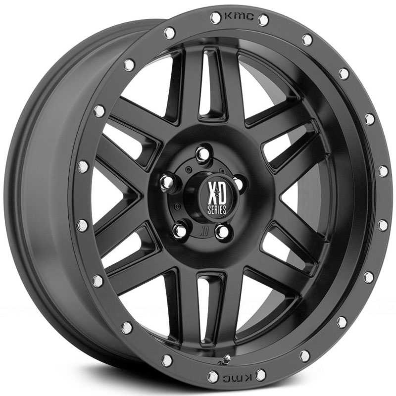 KMC XD Series XD128  Wheels Satin Black