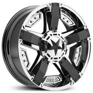 KMC XD Series XD811 Rockstar II  Wheels PVD With Matte Black Accents