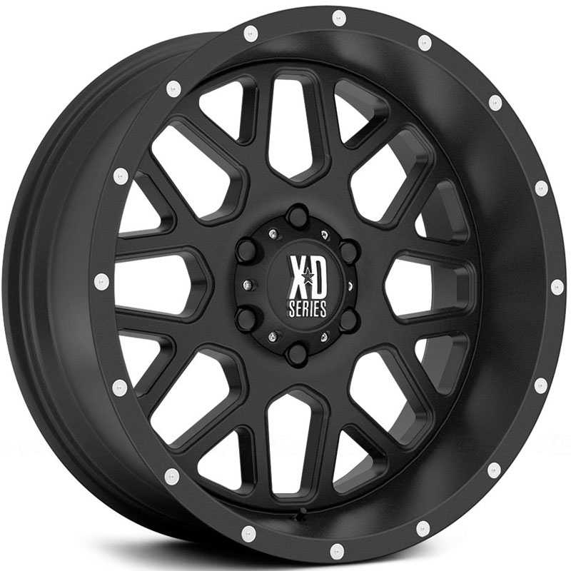 KMC XD Series XD820  Wheels Satin Black