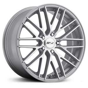 MSR 144  Wheels Diamond Cut w/ Silver Trim and Clear Coat