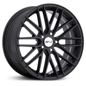 MSR 144  Wheels Matte Black
