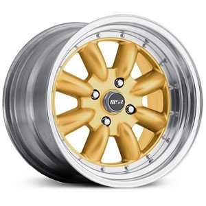 MSR 230  Wheels Polished with Gold center