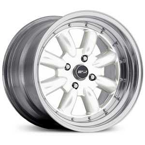 MSR 230  Wheels  Polished with White center