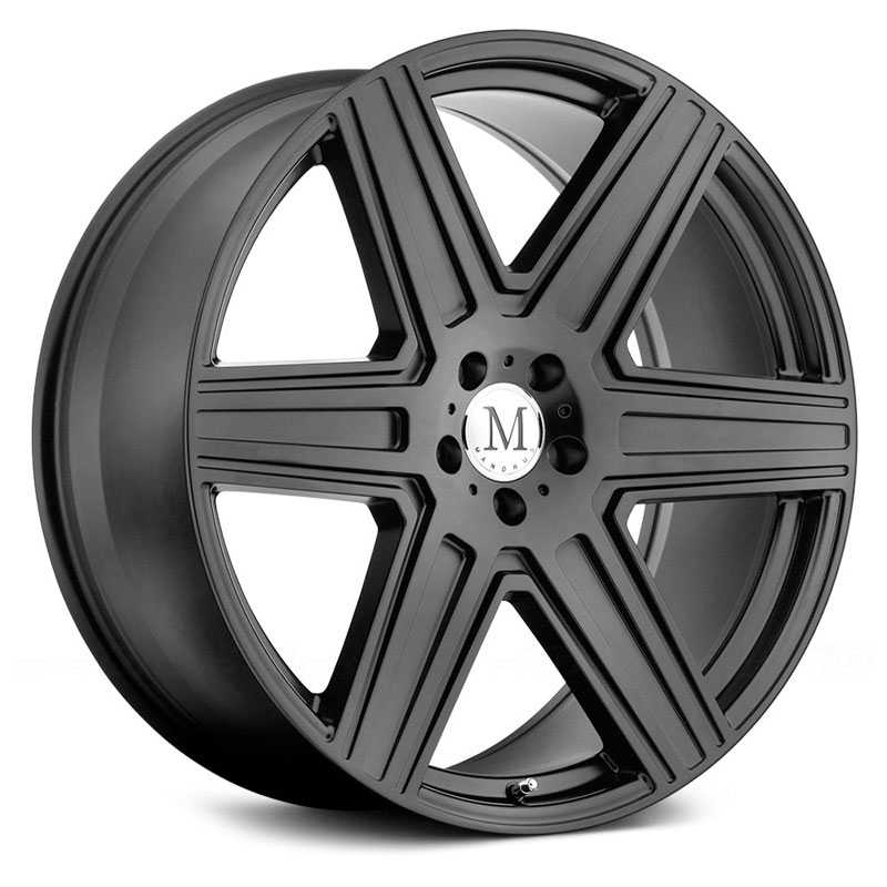 Mandrus Atlas  Wheels Matte Black