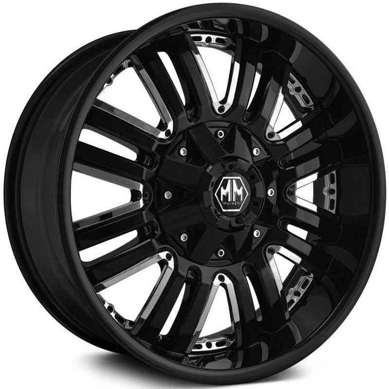 Mayhem Assault 8070  Wheels Black