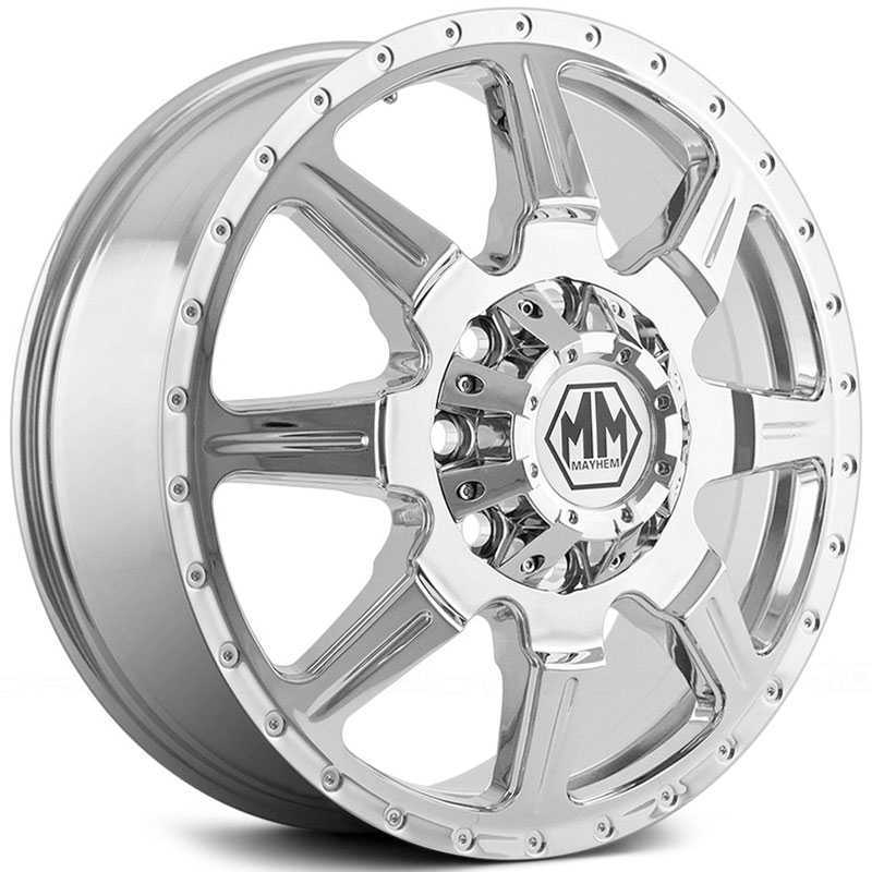 Mayhem Monstir Dually 8101  Wheels Chrome (Front)